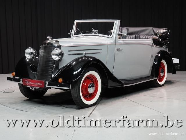 1937 Vauxhall Tickford Foursome Drophead Coupé '37 For Sale (picture 1 of 6)