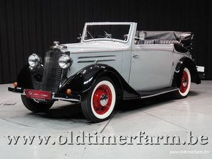 1937 Vauxhall Tickford Foursome Drophead Coupé '37 For Sale