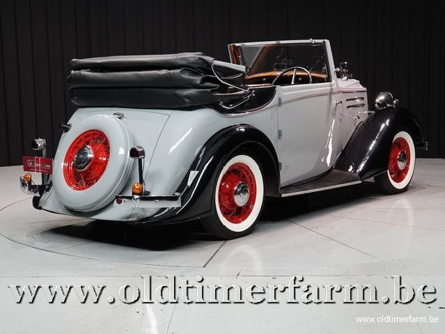 1937 Vauxhall Tickford Foursome Drophead Coupé '37 For Sale (picture 2 of 6)