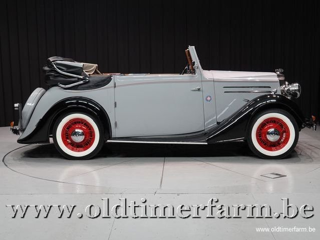 1937 Vauxhall Tickford Foursome Drophead Coupé '37 For Sale (picture 3 of 6)