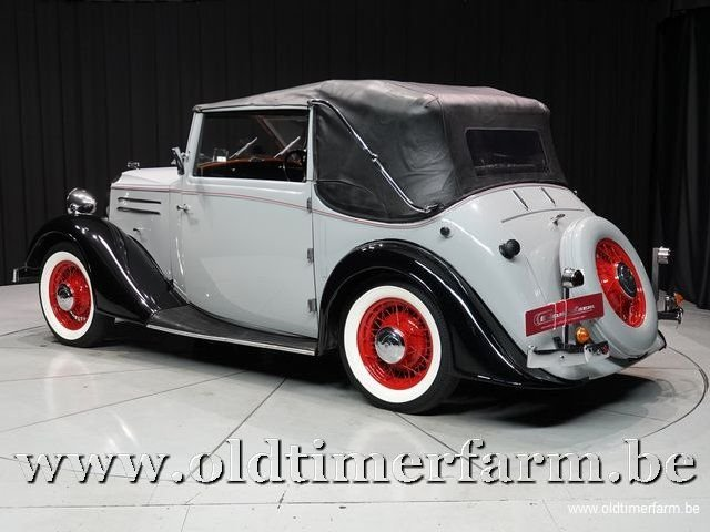 1937 Vauxhall Tickford Foursome Drophead Coupé '37 For Sale (picture 6 of 6)