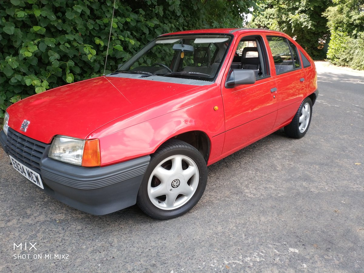 1988 Vauxall Astra For Sale (picture 3 of 6)