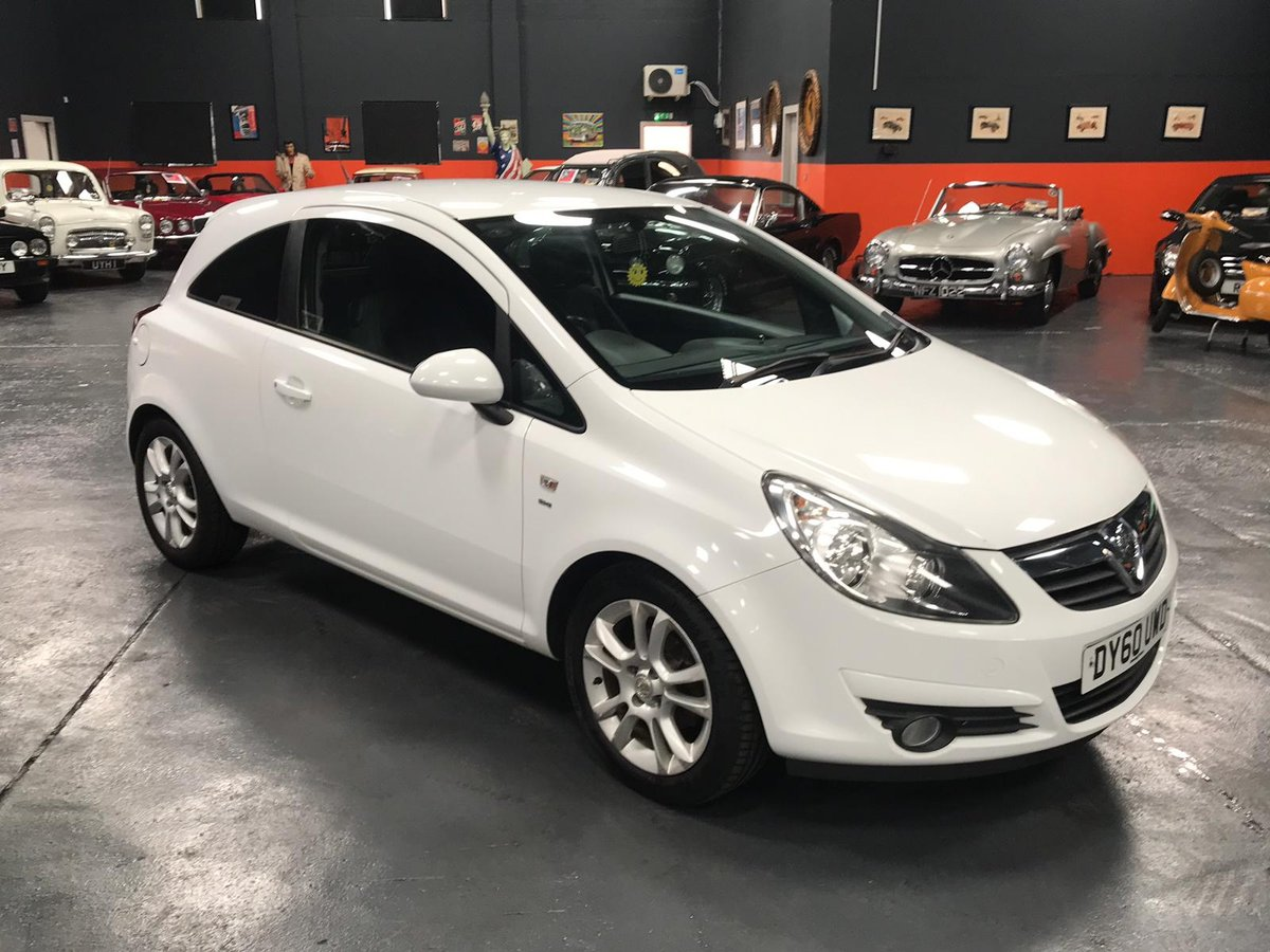 2010 60 VAUXHALL CORSA 1.2 SXI A/C 3d 83 BHP For Sale (picture 1 of 6)