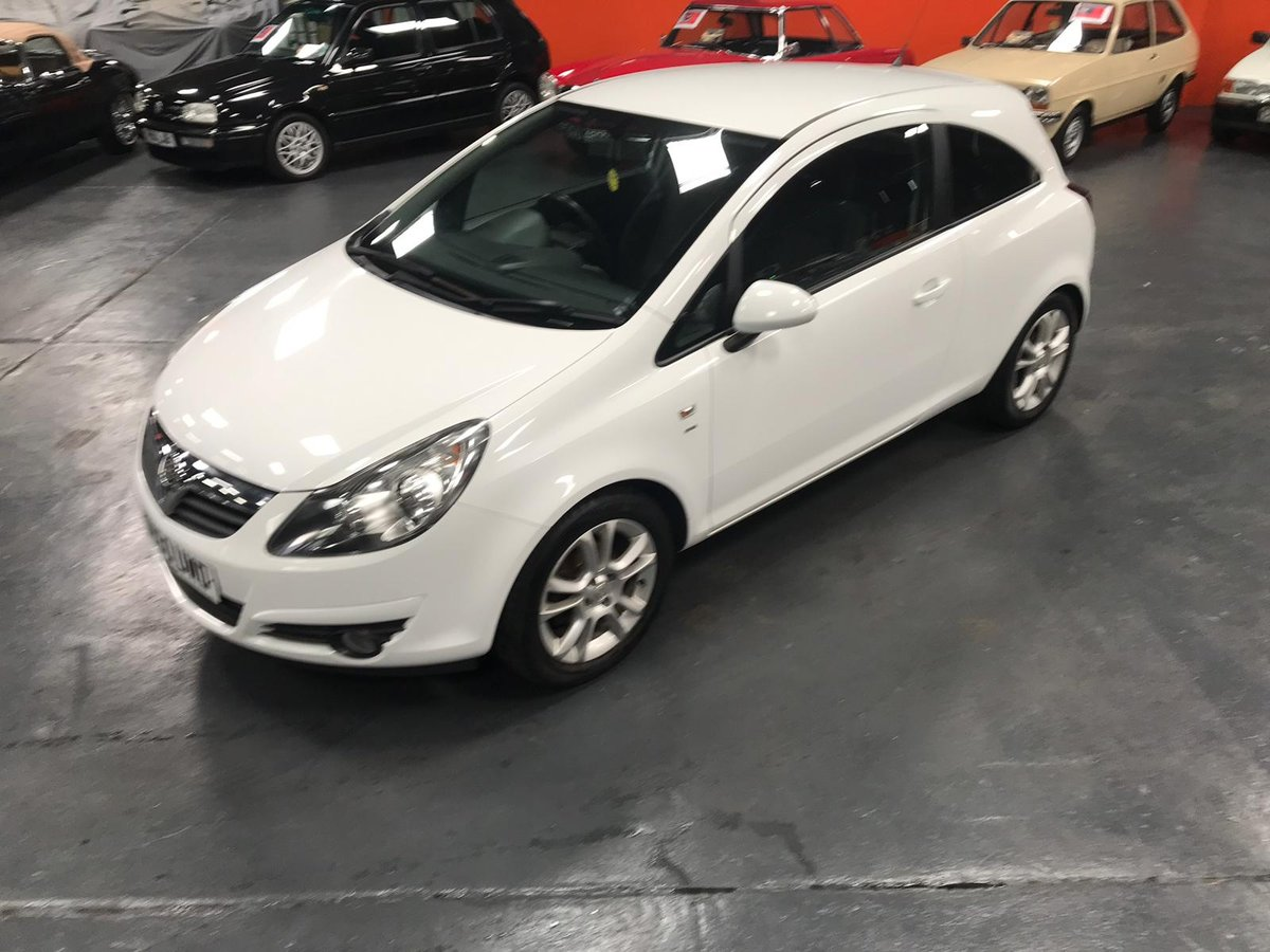 2010 60 VAUXHALL CORSA 1.2 SXI A/C 3d 83 BHP For Sale (picture 3 of 6)