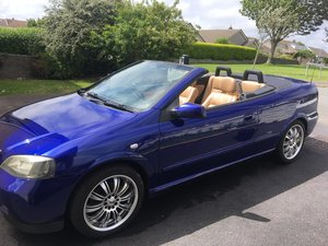 2003 Vauxhall Astra Convertible Edition 100 1.8 Petrol For Sale