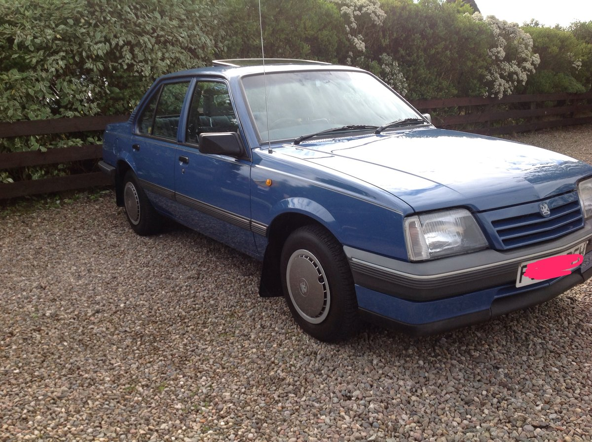 1988 Vauxhall Cavalier For Sale (picture 1 of 6)