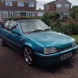 1992 Vauxhall Astra convertible limited edition bertone For Sale