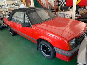 1986 Vauxhall Cavalier Cabriolet very low miles For Sale
