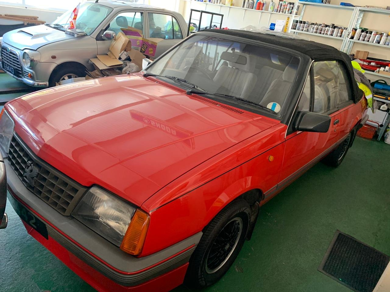 1986 Vauxhall Cavalier Cabriolet very low miles For Sale (picture 5 of 5)