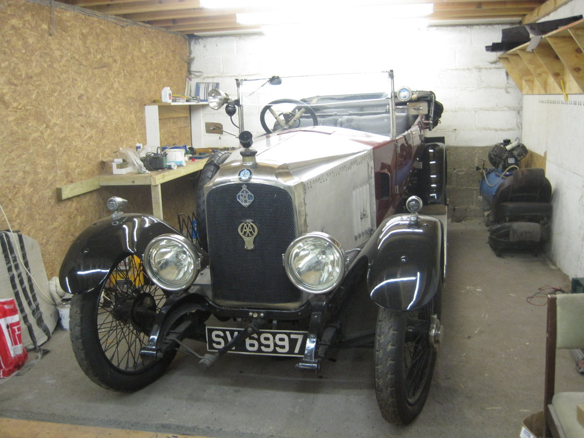 1922 Vauxhall D type tourer For Sale (picture 1 of 6)