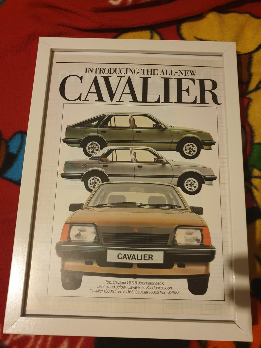 1981 Original Vauxhall Cavalier advert For Sale (picture 1 of 2)