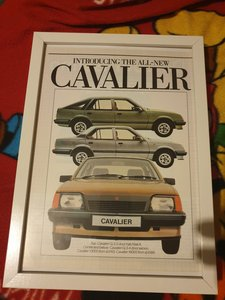 1981 Original Vauxhall Cavalier advert For Sale