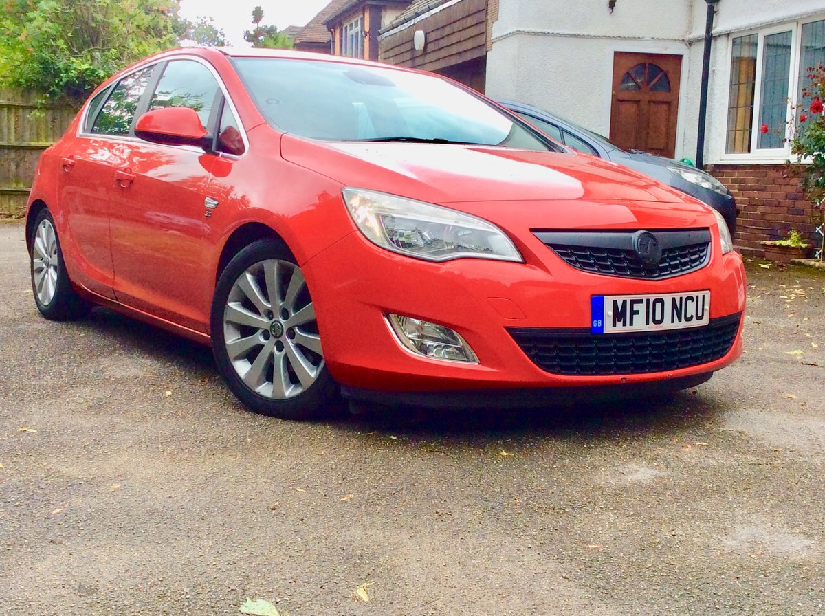 2010 Vauxhall Astra SE 1.7CDTI 110BHP Sat-Nav SOLD (picture 1 of 6)