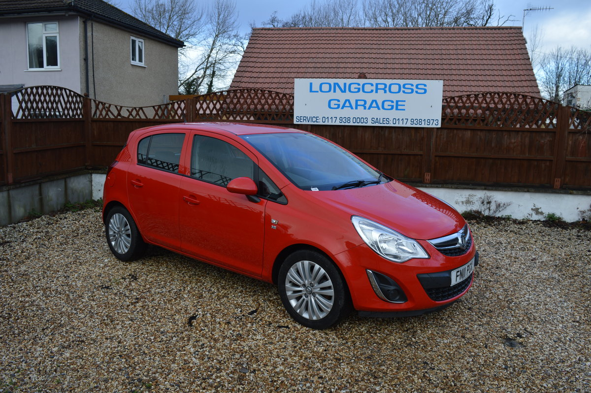 2011 VAUXHALL CORSA 1.2 i 16v Excite 5dr PETROL MANUAL  For Sale (picture 1 of 6)