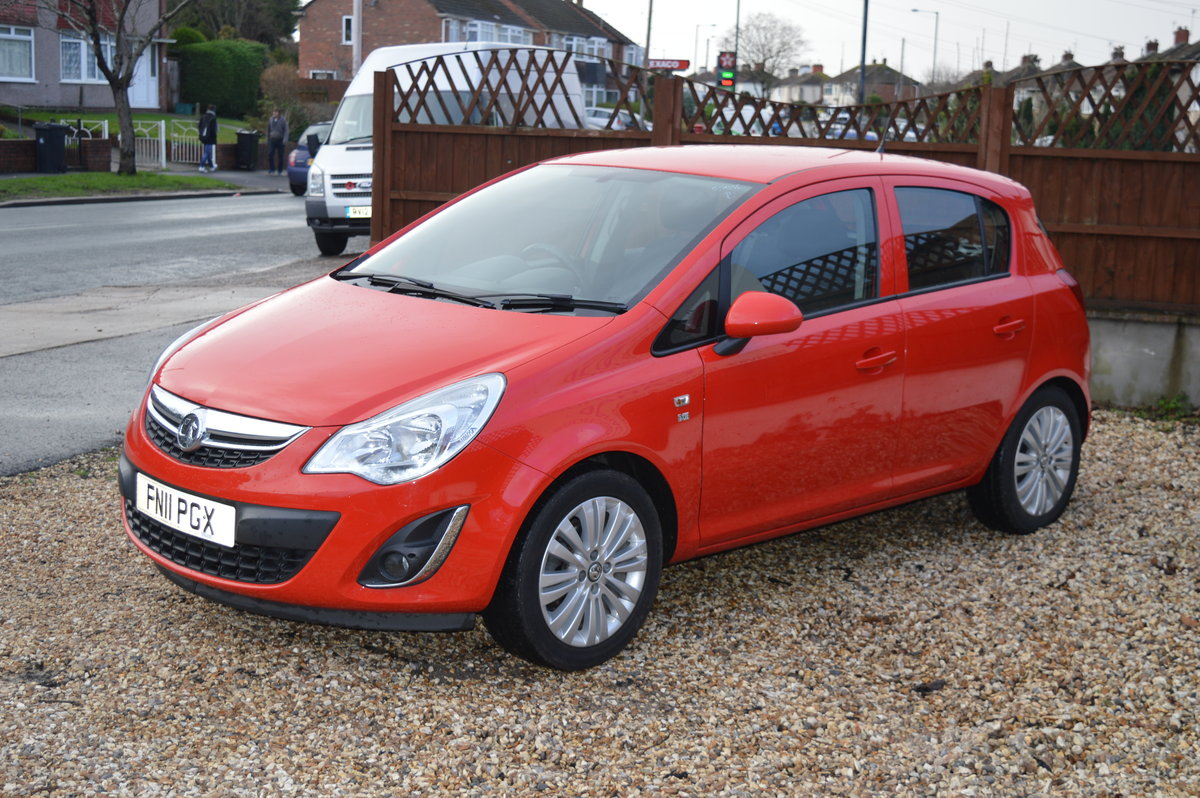 2011 VAUXHALL CORSA 1.2 i 16v Excite 5dr PETROL MANUAL  For Sale (picture 2 of 6)