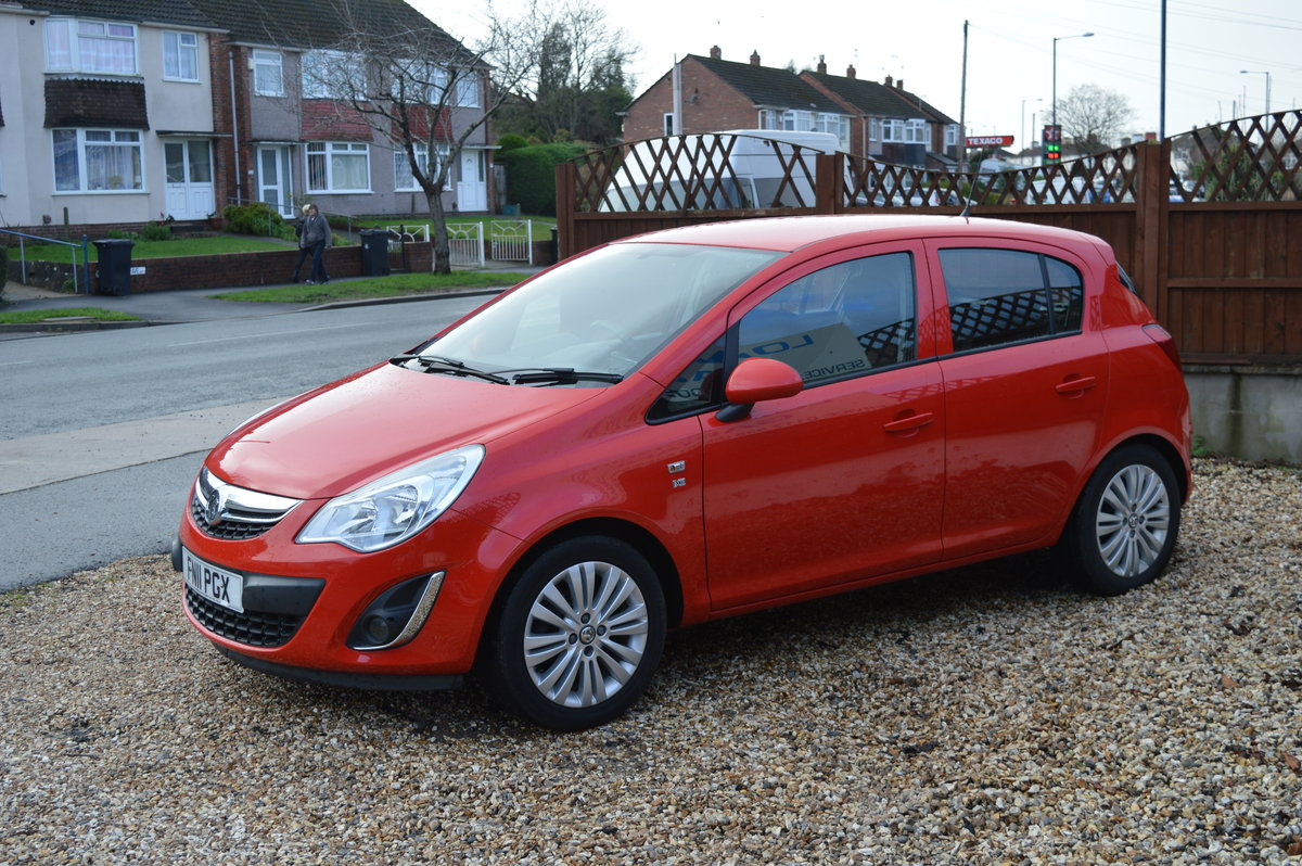 2011 VAUXHALL CORSA 1.2 i 16v Excite 5dr PETROL MANUAL  For Sale (picture 3 of 6)