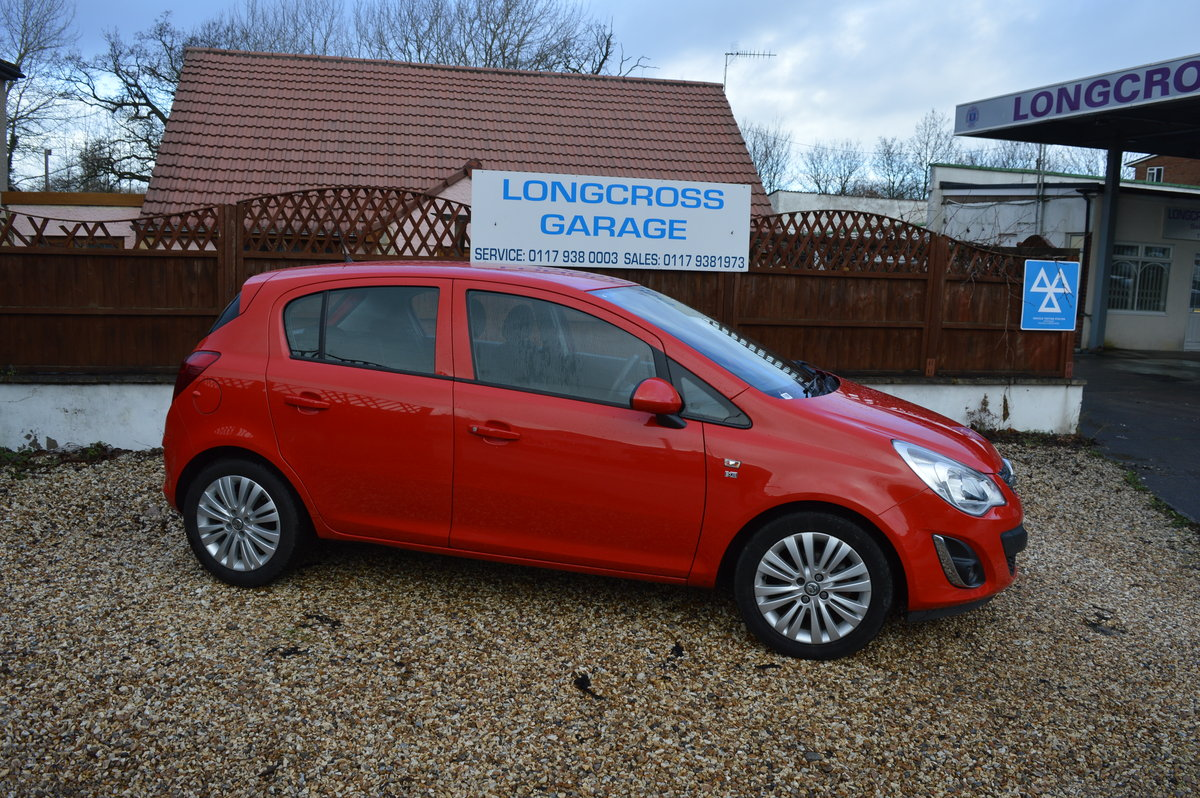 2011 VAUXHALL CORSA 1.2 i 16v Excite 5dr PETROL MANUAL  For Sale (picture 5 of 6)