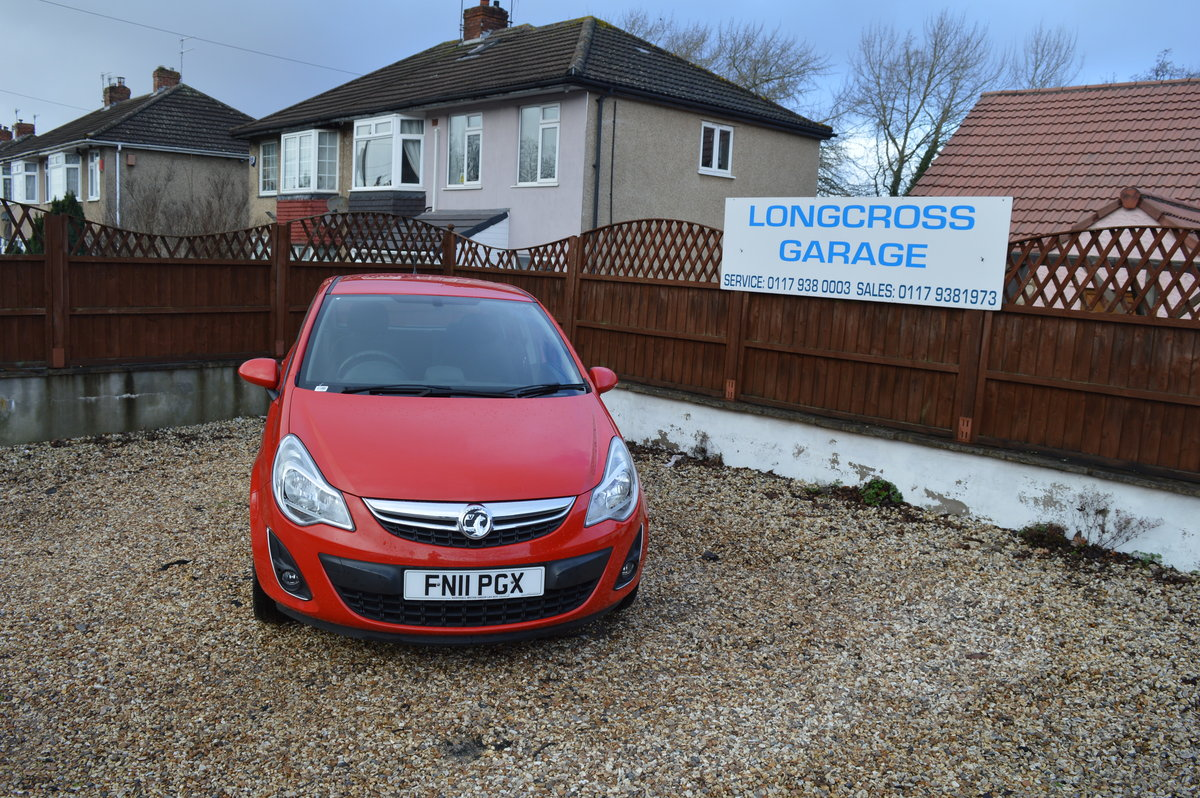 2011 VAUXHALL CORSA 1.2 i 16v Excite 5dr PETROL MANUAL  For Sale (picture 6 of 6)