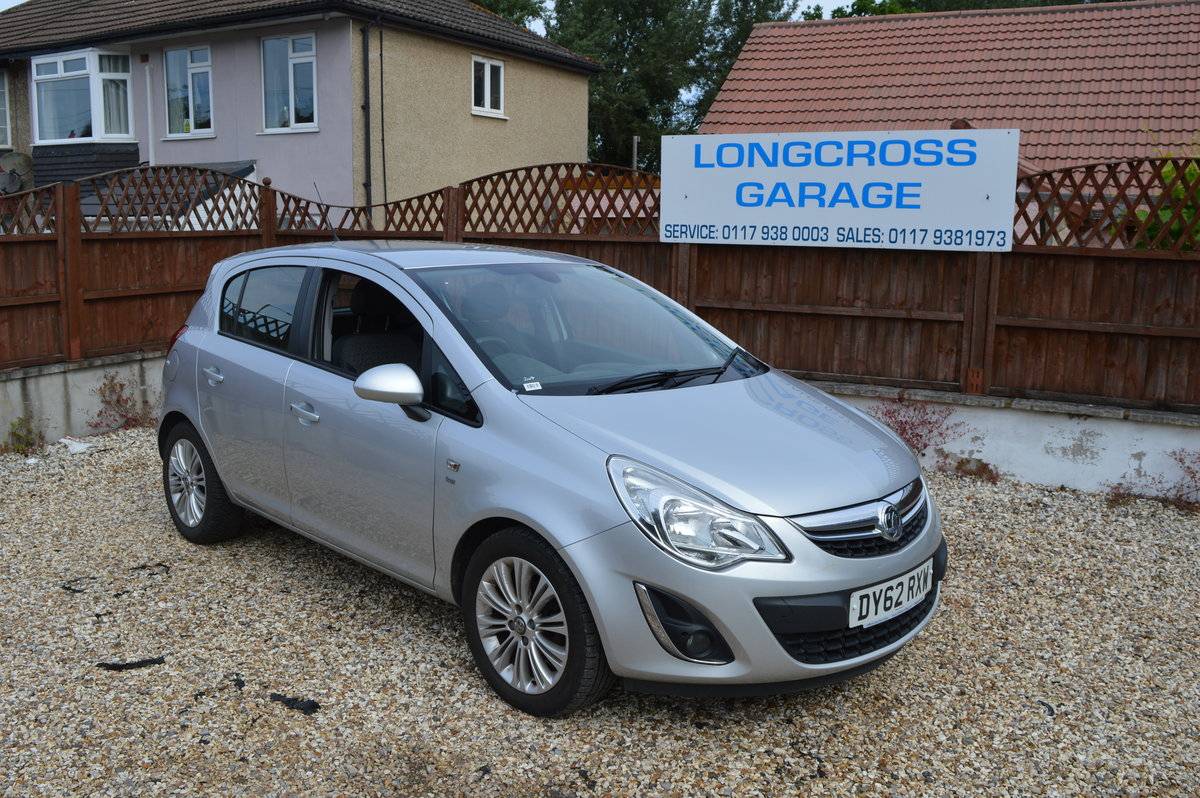 2012 VAUXHALL CORSA 1.4 SE MANUAL PETROL 5 DOOR For Sale (picture 1 of 6)