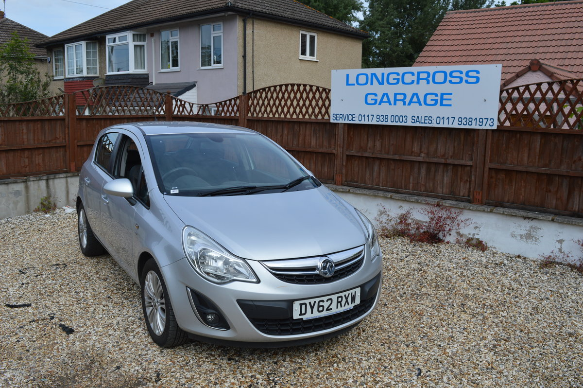2012 VAUXHALL CORSA 1.4 SE MANUAL PETROL 5 DOOR For Sale (picture 2 of 6)