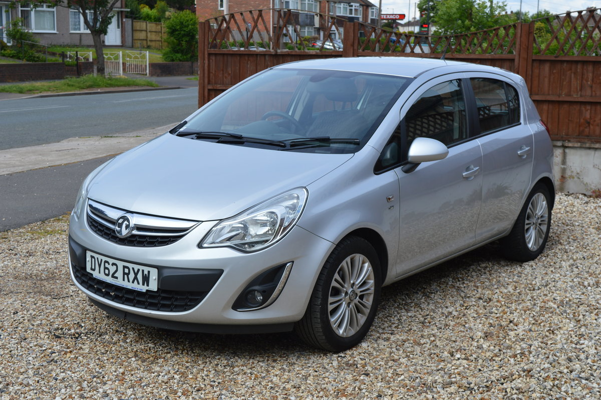2012 VAUXHALL CORSA 1.4 SE MANUAL PETROL 5 DOOR For Sale (picture 3 of 6)