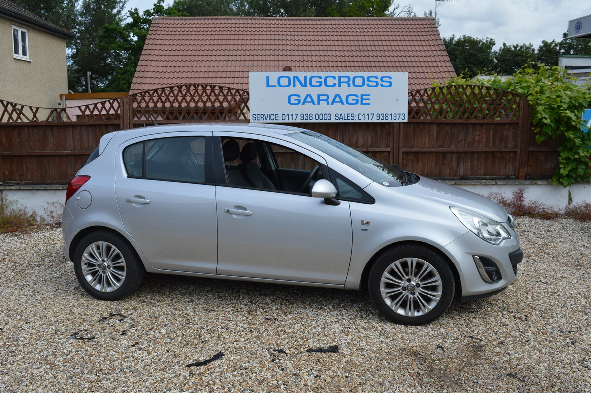 2012 VAUXHALL CORSA 1.4 SE MANUAL PETROL 5 DOOR For Sale (picture 4 of 6)