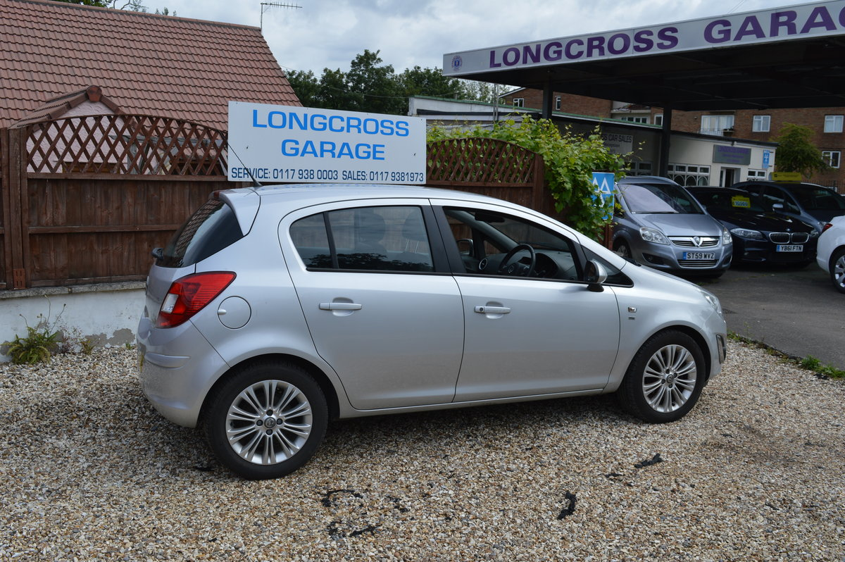 2012 VAUXHALL CORSA 1.4 SE MANUAL PETROL 5 DOOR For Sale (picture 5 of 6)