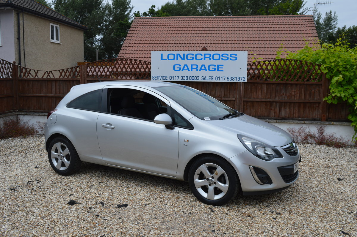 2012 VAUXHALL CORSA 1.4 SXI 3 DOOR PETROL MANUAL For Sale (picture 1 of 6)