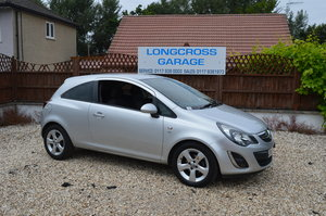 2012  VAUXHALL CORSA 1.4 SXI 3 DOOR PETROL MANUAL