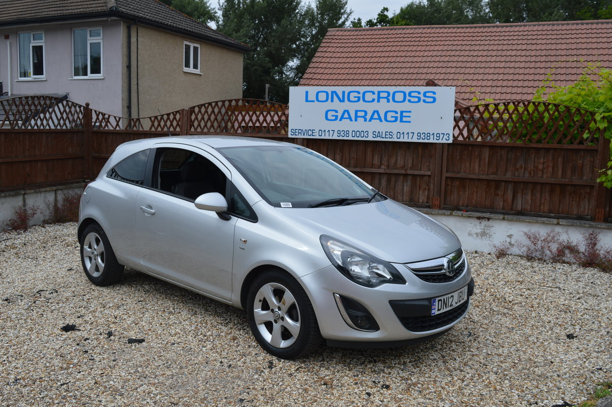 2012 VAUXHALL CORSA 1.4 SXI 3 DOOR PETROL MANUAL For Sale (picture 2 of 6)