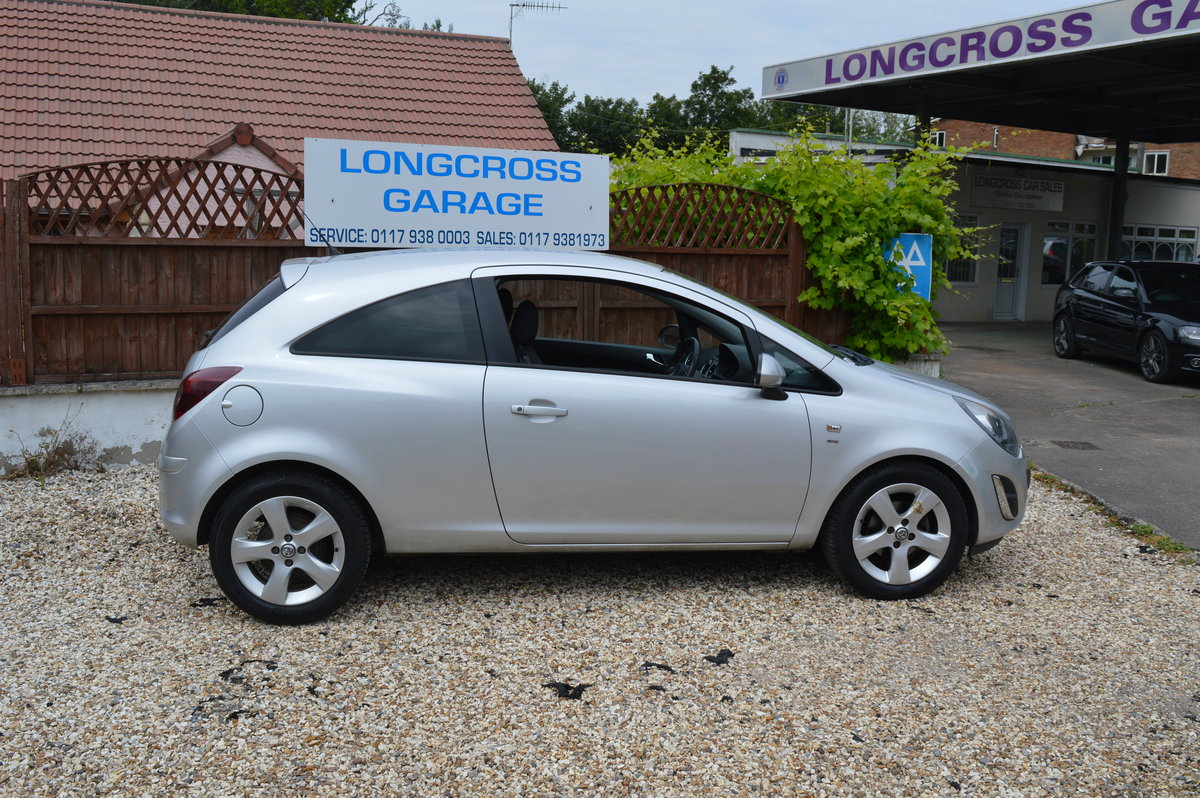2012 VAUXHALL CORSA 1.4 SXI 3 DOOR PETROL MANUAL For Sale (picture 3 of 6)