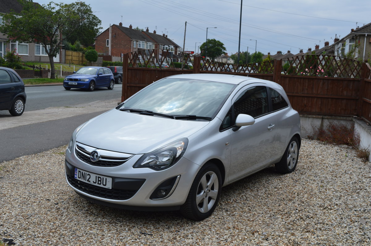 2012 VAUXHALL CORSA 1.4 SXI 3 DOOR PETROL MANUAL For Sale (picture 6 of 6)