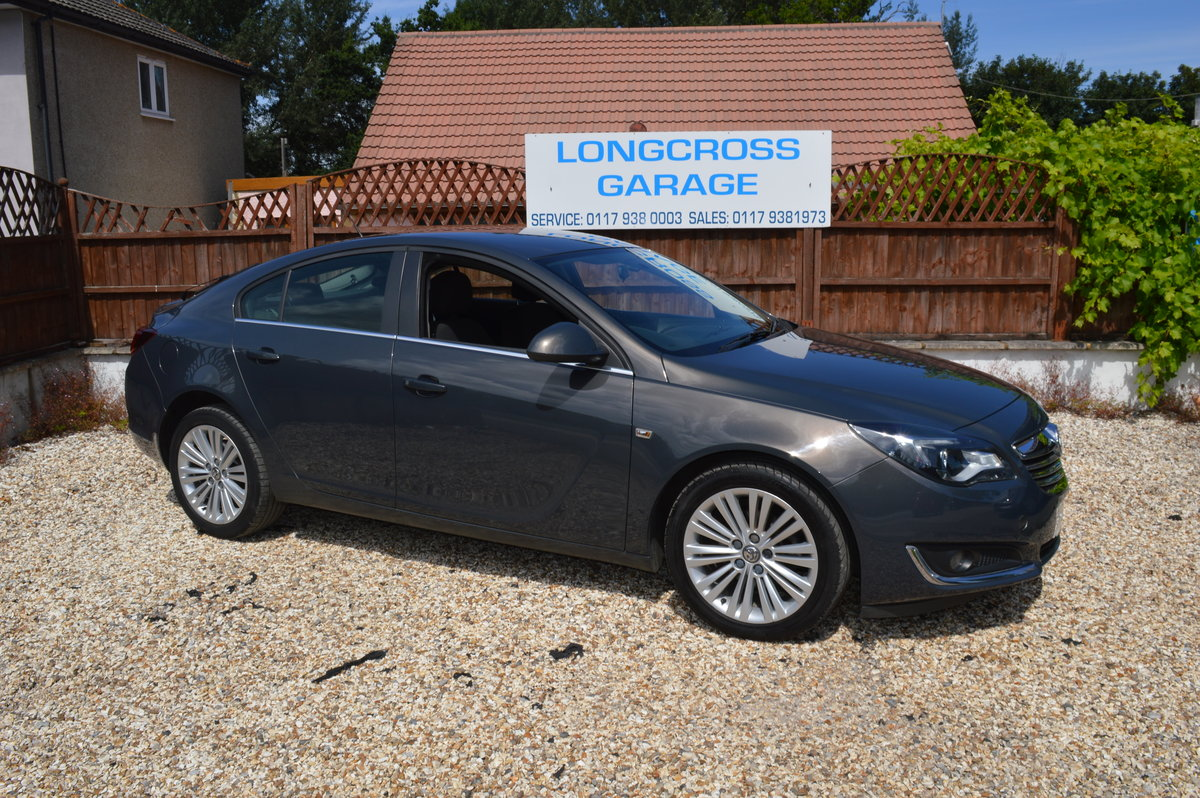 2013 VAUXHALL INSIGNIA 1.8 VVT DESIGN 5 DOOR PETROL MANUAL For Sale (picture 1 of 6)