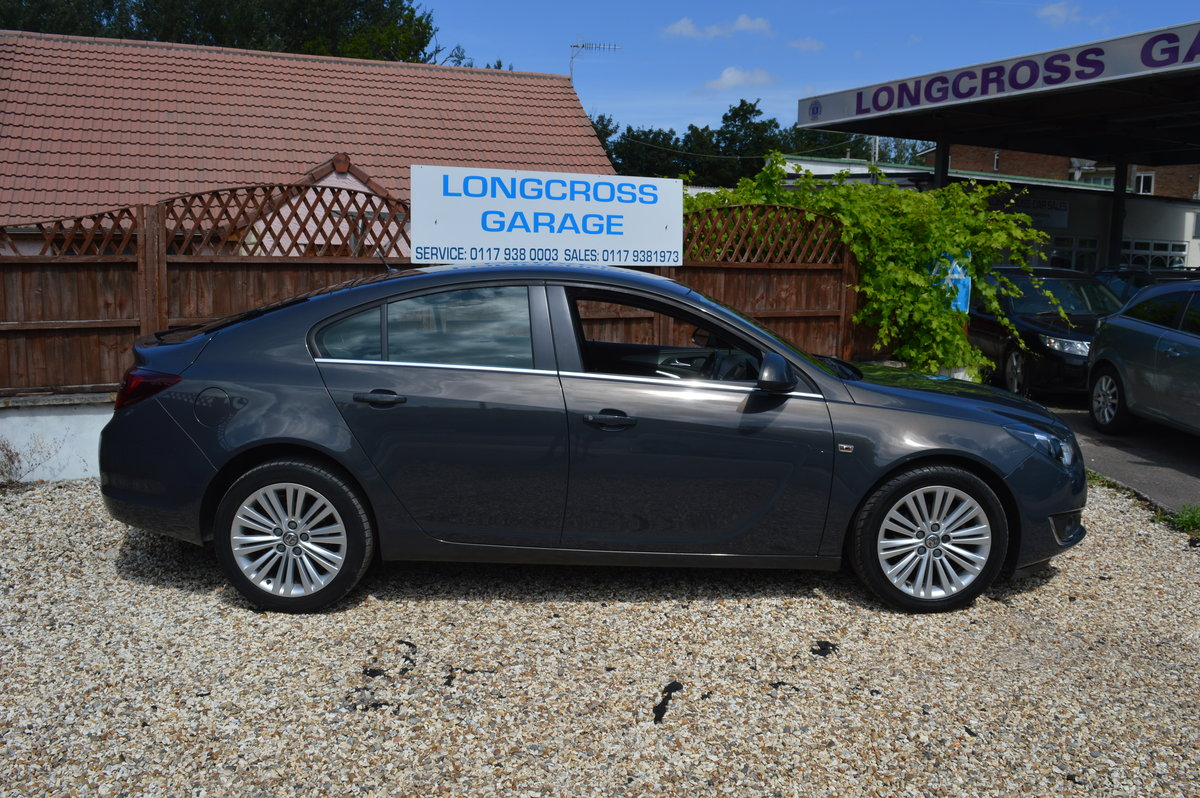 2013 VAUXHALL INSIGNIA 1.8 VVT DESIGN 5 DOOR PETROL MANUAL For Sale (picture 3 of 6)