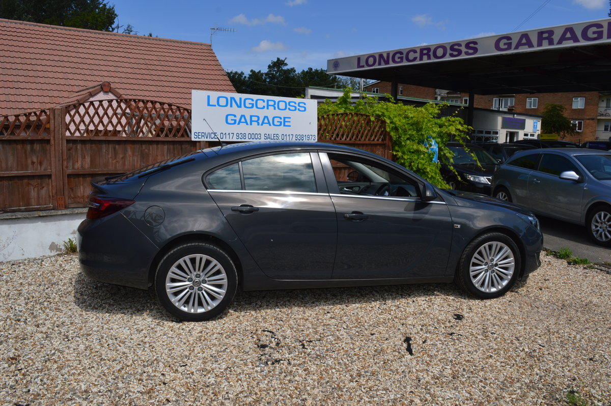 2013 VAUXHALL INSIGNIA 1.8 VVT DESIGN 5 DOOR PETROL MANUAL For Sale (picture 4 of 6)