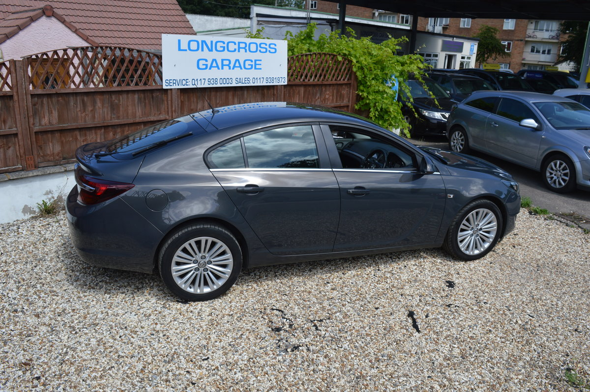 2013 VAUXHALL INSIGNIA 1.8 VVT DESIGN 5 DOOR PETROL MANUAL For Sale (picture 6 of 6)