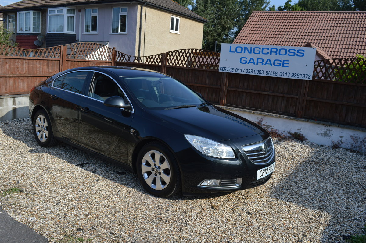 2012 VAUXHALL INSIGNIA 2.0 CDTI SRI 5 DOOR MANUAL DIESEL For Sale (picture 1 of 6)