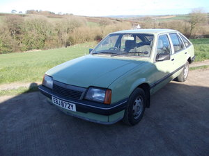 1983 Vauxhall Cavalier 1.3L For Sale