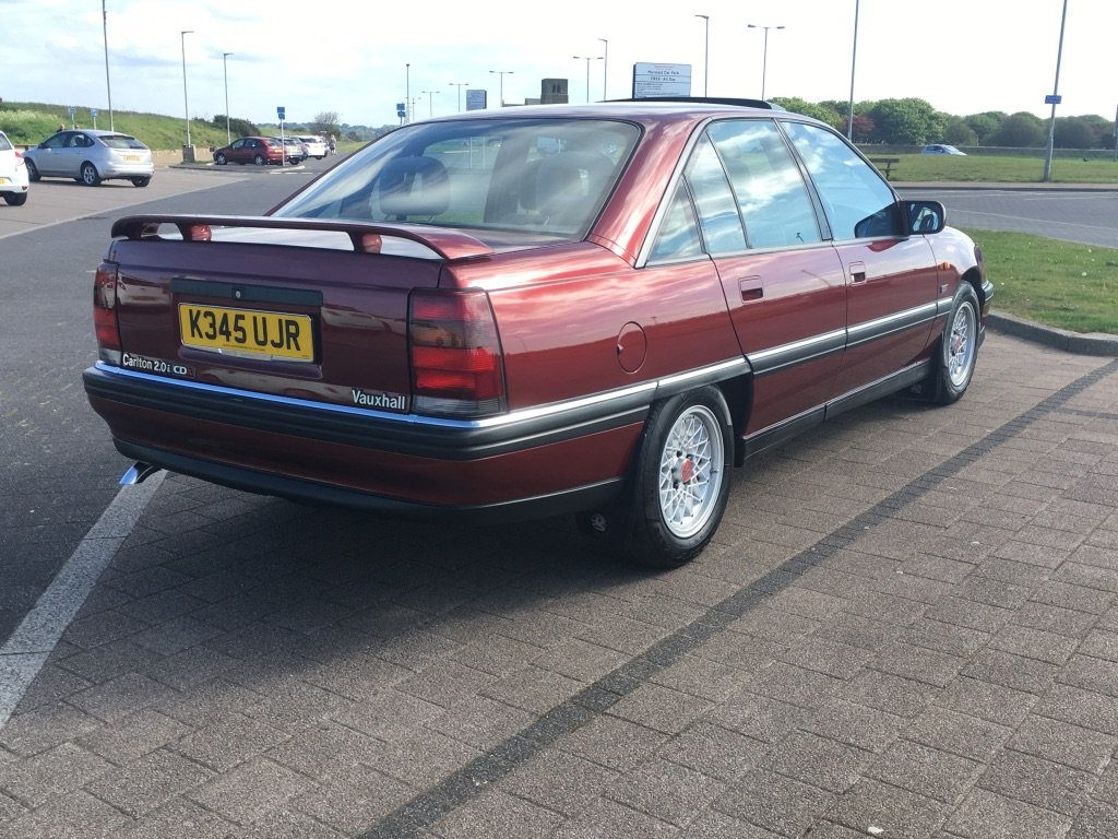 1993 Vauxhall Carlton 2.0i CDX Automatic For Sale (picture 6 of 6)