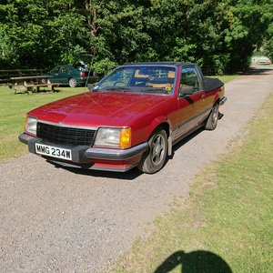 1981 Vauxhall Royale Unique straight six Convertible For Sale