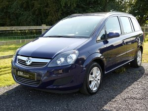 2013 VAUXHALL ZAFIRA EXCLUSIV 1.6 1 OWNER FULL VAUXHALL HISTORY SOLD