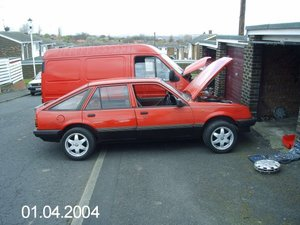 1984 Vauxhall Cavalier mk2 Ideal classic For Sale