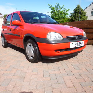 1999 Vauxhall Corsa 1.2 Breeze Only 6,862 miles SOLD