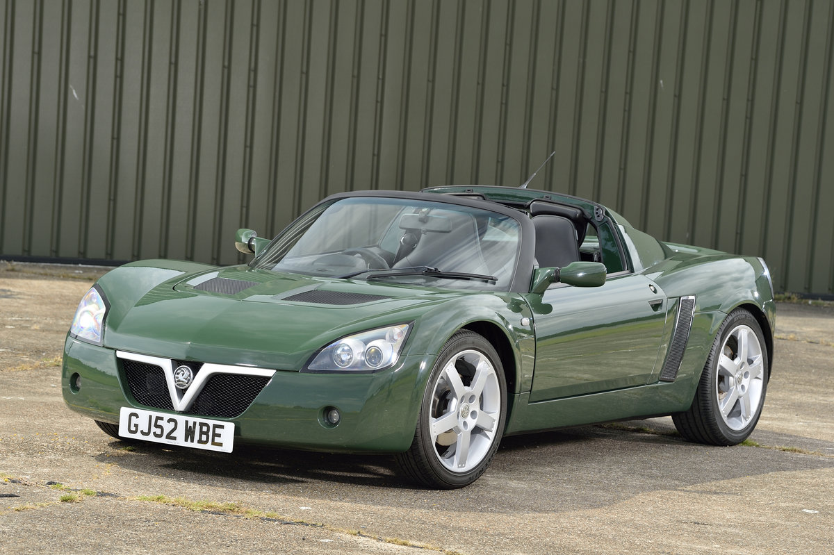 2003 Vauxhall VX220 2.2i 16v 1 of 7 British Racing Green For Sale (picture 1 of 6)