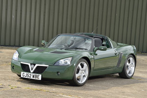 2003 Vauxhall VX220 2.2i 16v 1 of 7 British Racing Green For Sale