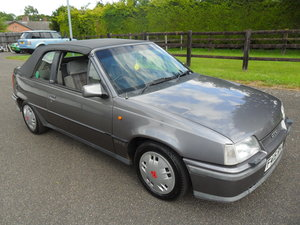 1989 Astra GTE Cabriolet For Sale