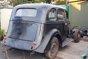 1935 Vauxhall 18 RESTORATION