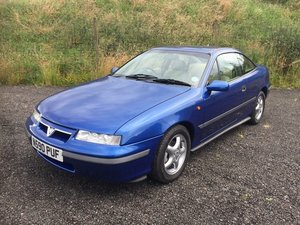 1995 Vauxhall Calibra SE4 at Morris Leslie Auction 17th August  SOLD by Auction