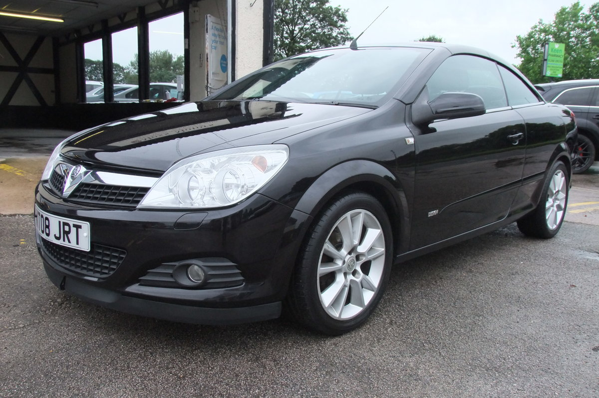 2008 VAUXHALL ASTRA 1.8 TWIN TOP DESIGN 3DR For Sale (picture 1 of 6)