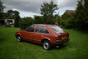 1981 VAUXHALL ASTRA MARK 1 1300s GL 5-DOOR. JUST AMAZING! For Sale